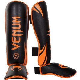 מגני רגליים ונום Venum Challenger Black/Orange